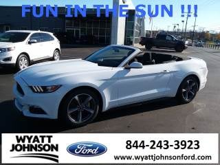 2017 Ford Mustang V6 in Clarksville TN TN - Wyatt Johnson Used Cars : ford v6 cars - markmcfarlin.com